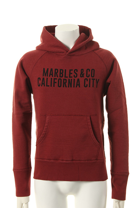 50%OFFセール 33 000円→16 高い素材 500円 Marbles マーブルズ 倉 ULTRA {MHP-A14SP01-RED-AES} HEAVY HOODED PARKA CALIFORNIA CITY
