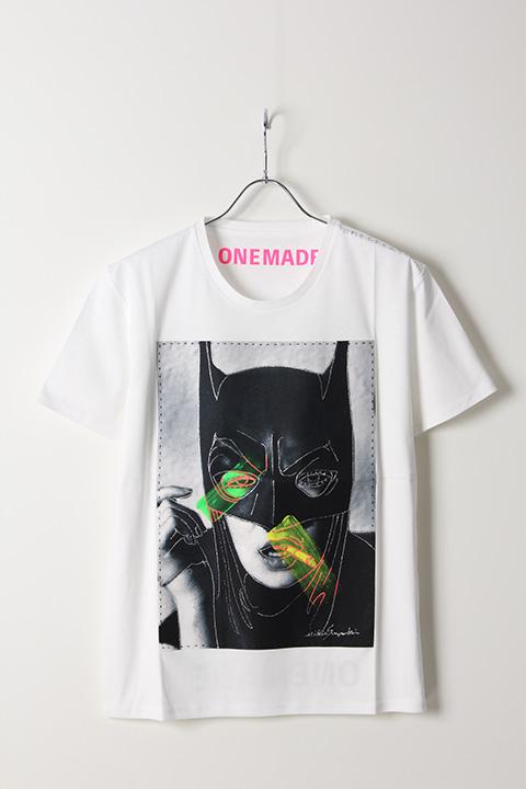 40%OFFセール 毎日激安特売で 営業中です 半額 35 200円→21 120円 ONE MADE ワンメイド Woman{-AIS} Bat T-shirt