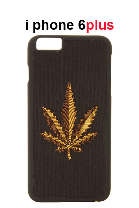 Palm Angels パームエンジェルス WEED IPHONE CASE 6PLUS{PMPA002S7198029-1093-AGS}