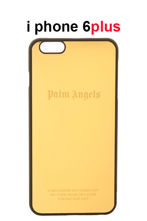 Palm Angels パームエンジェルス GOLD IPHONE CASE 6PLUS{PMPA002S7198047-9393-AGS}