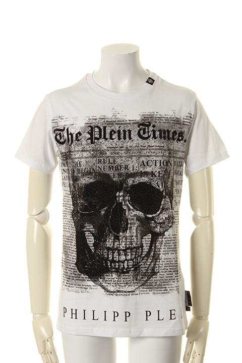 fa717547873c link-bar: PHILIPP PLEIN HOMME フィリッププレインオム T-Shirt Round neck SS