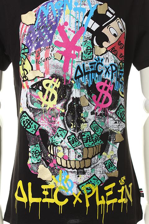 23c078db8bb1 ... PHILIPP PLEIN HOMME フィリッププレインオム T-shirt Round Neck SS