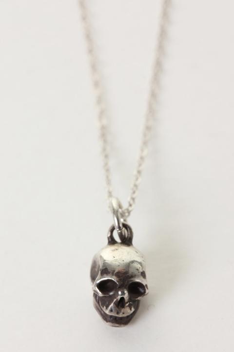 VADEL バデル silver925 skull necklace{-AEA}