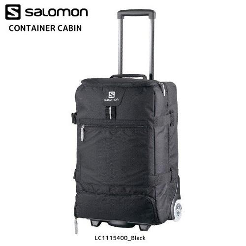 18-19 SALOMON (サロモン)CONTAINER CABIN(コンテナーキャビン) -LC1115400:Black-