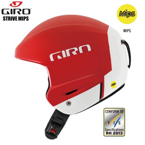 GIRO(ジロ) STRIVE MIPS (ストライブ ミップス) FIS RH13 対応モデル 】-Matte Red-【Helmet/ヘルメット】