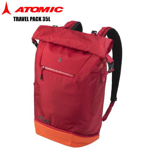 ATOMIC(アトミック)TRAVEL PACK 35L (トラベルパック 35リットル) AL5038110 -Red/Bright Red- 【ブーツバッグ/バックパック】