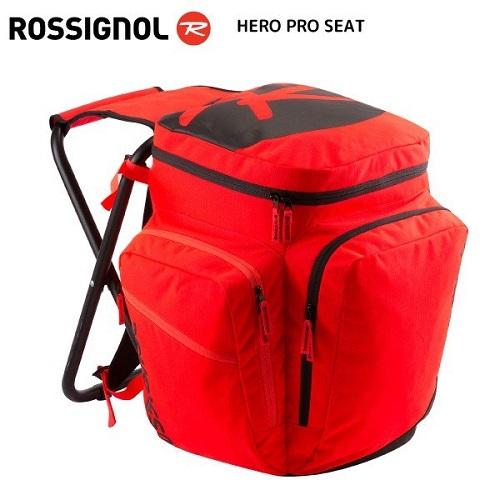 ROSSIGNOL (ロシニョール) HERO PRO SEAT(ヒーロ プロシート)RKHB102 【イス付きバッグ/バックパック】