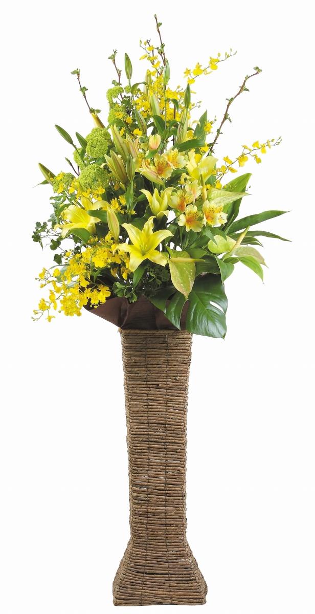 スタンドバスケットA開店祝いフラワー 送料無料 開店祝い 開店祝い花 フラワー開店祝い 開店祝い 開業祝い 生花開店祝い 誕生日 記念日