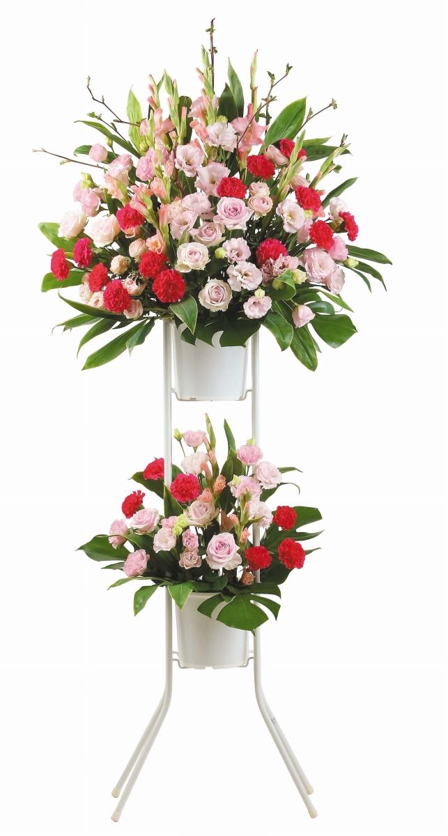 スタンドダブルA開店祝いフラワー 送料無料 開店祝い 開店祝い花 フラワー開店祝い 開店祝い 開業祝い 生花開店祝い 誕生日 記念日