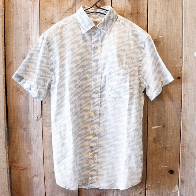 【今だけの限定プライス!!】Faherty Brand(ファリティブランド)インディゴ半袖シャツ【メンズ】