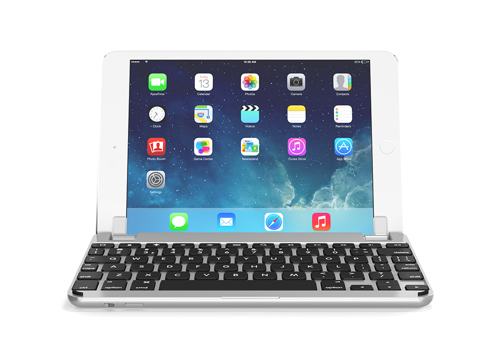 Brydge iPad mini 4対応 ハードケース一体型Bluetoothキーボード BRYDGE 7.9 Silver シルバー BRY5101