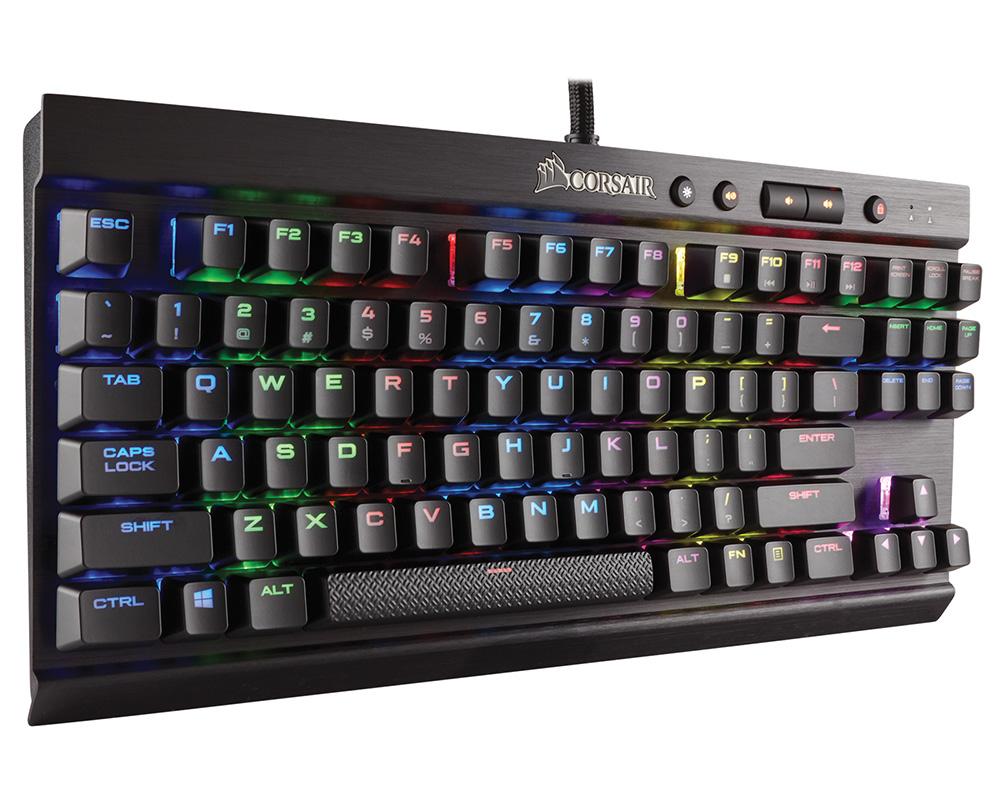 CORSAIR キーボード Cherry MX RGB Redを採用した10キーレスメカニカルキーボード CH-9110010-JP (K65 LUX RGB) 赤軸
