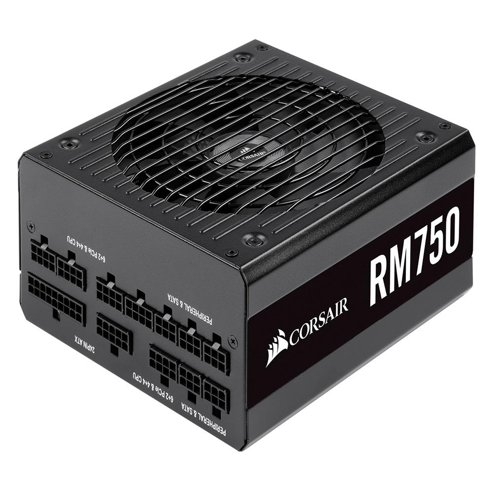 CORSAIR 80PLUS ゴールド認証取得 750W静音電源ユニット RM Series RM750 CP-9020195-JP 出力750W
