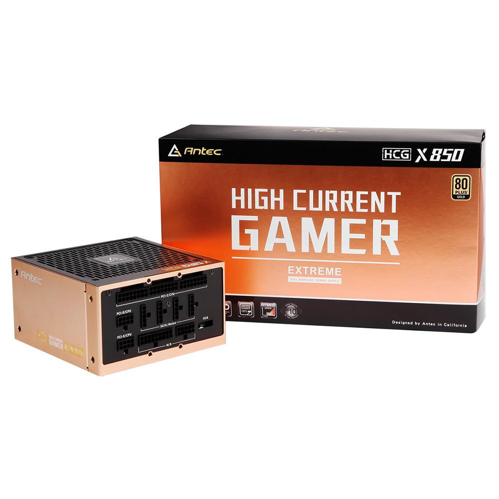 ANTEC 80PLUS GOLD認証取得 高効率ハイエンド電源ユニット HCG850 EXTREME 出力850W