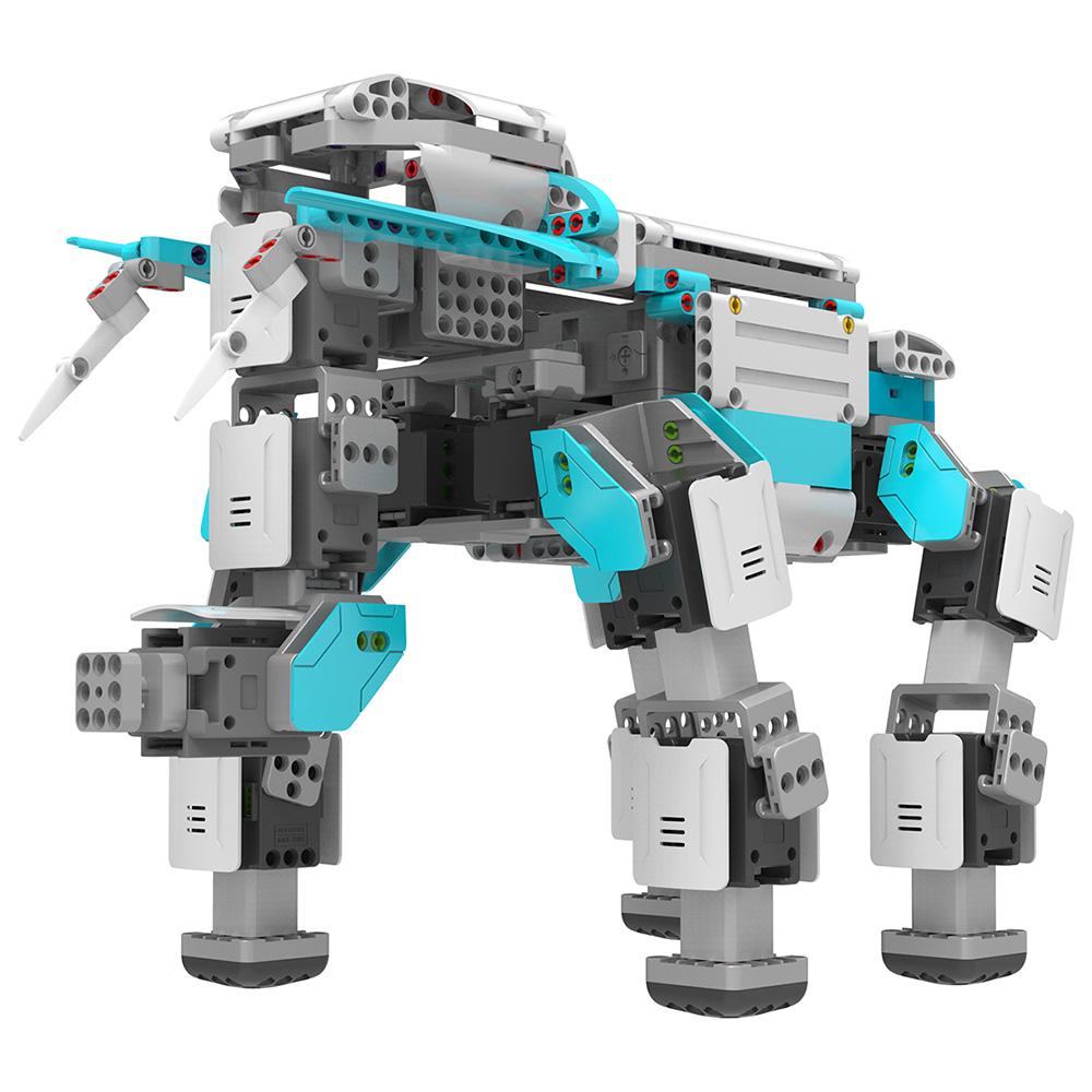【箱破損品(新品)】UBTECH ロボットを組み立て、プログラムで制御する学習ロボット Inventor Kit