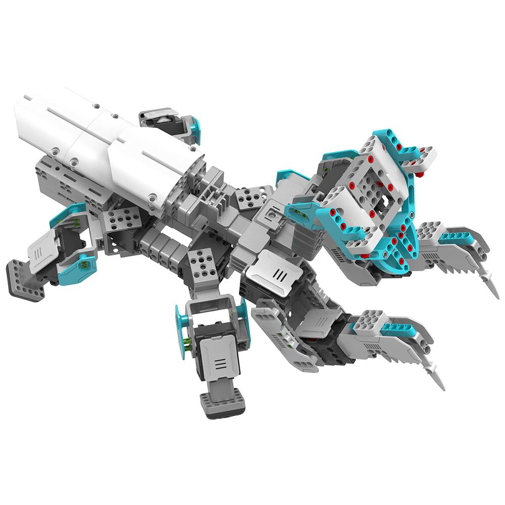 【残り2台です!!】UBTECH ロボットを組み立て、プログラムで制御する学習ロボット Inventor Kit