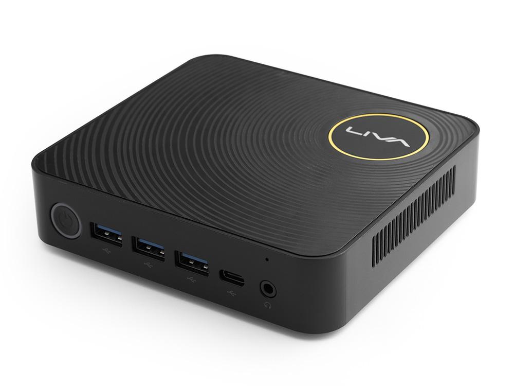 ECS Windows 10 Proを搭載した小型デスクトップパソコン LIVAZ-16/240-W10Pro(N4200)TS メモリ16GB ストレージ240GB+64GB