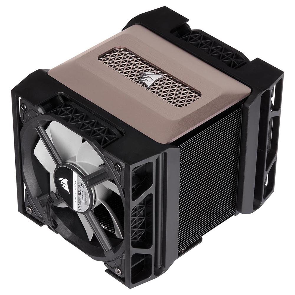 CORSAIR TDP 250W対応 サイドフロー型デュアルファン空冷CPUクーラー A500 (CT-9010003-WW)
