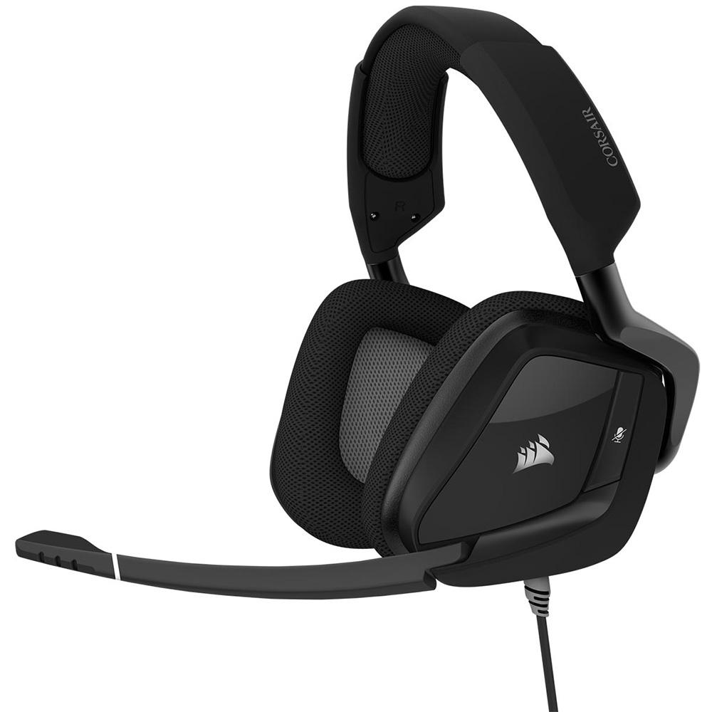CORSAIR 50mmネオジウムドライバ搭載ゲーミングヘッドセット VOID Pro RGB Elite USB Carbon (CA-9011203-AP) ブラック