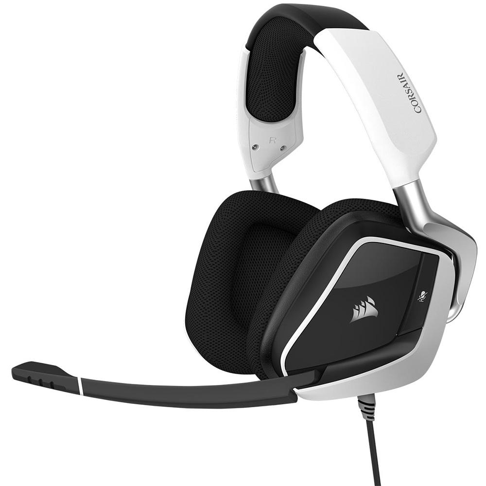 CORSAIR 50mmネオジウムドライバ搭載ゲーミングヘッドセット VOID Pro RGB Elite USB White (CA-9011204-AP) ホワイト