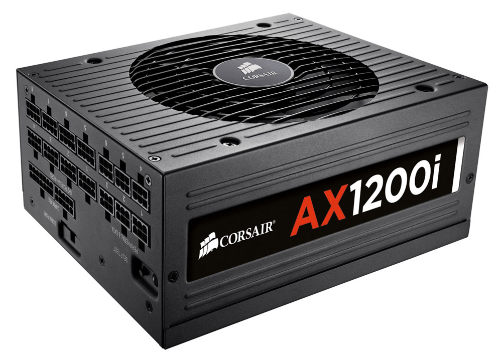 CORSAIR 80PLUS PLATINUM認証取得 1200Wハイエンド電源ユニット AX1200i CP-9020008-JP