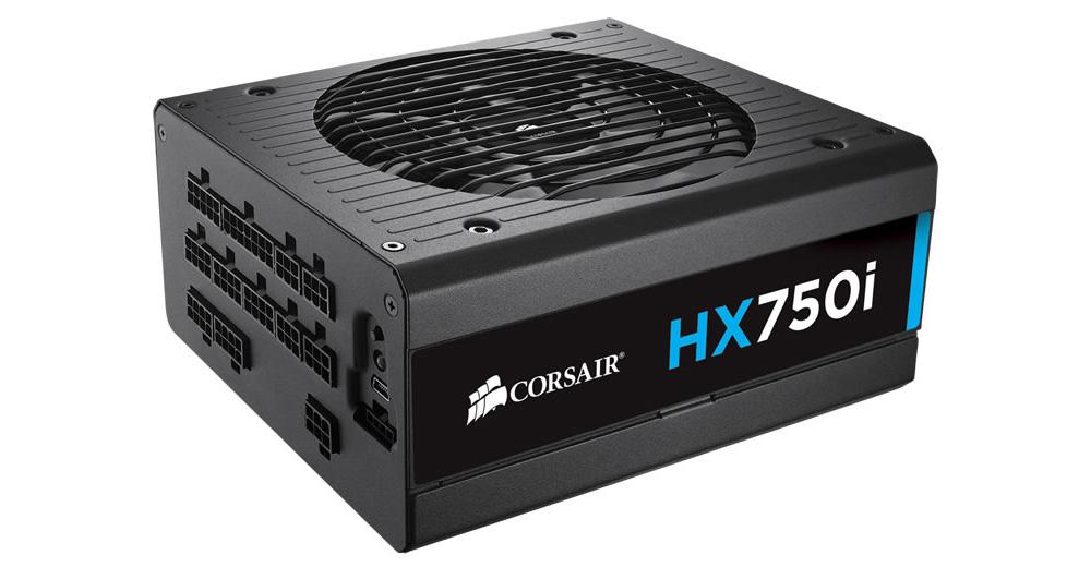 ■箱破損品(新品) ■CORSAIR 80PLUS PLATINUM認証取得 750Wハイエンド電源ユニット HX750i CP-9020072-JP