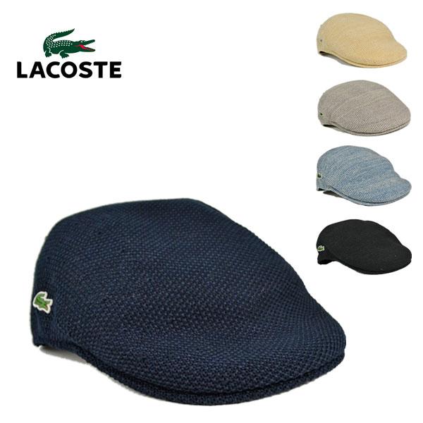 ラコステ・サーモニットハンチングL3522/LACOSTE 帽子 通気性 メッシュ 涼しい メンズ レディース 夏用 【代引き手数料無料】【送料無料】【smtb-k】【kb】