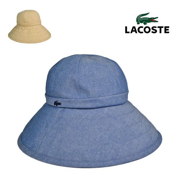 ラコステ・レディース広つばダウンハットL7048/LACOSTE 【帽子】【送料無料】【smtb-k】【kb】