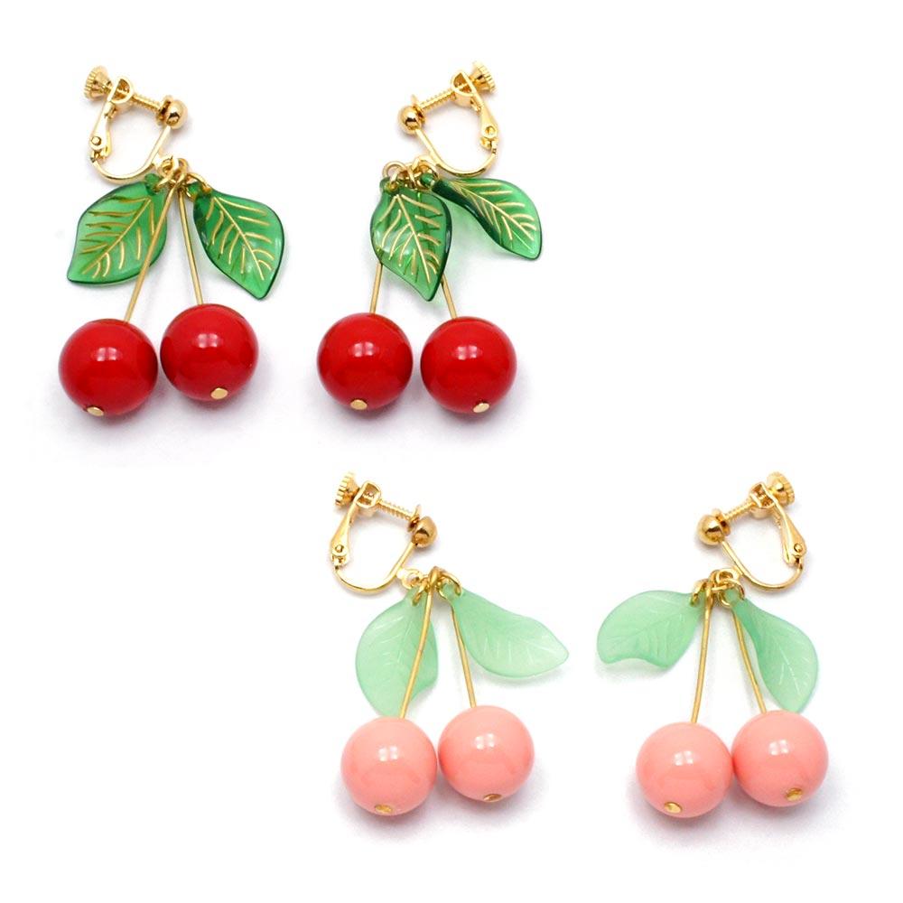 sweet cherry 定番 ガーグル 人気ブレゼント イヤリング:gargle