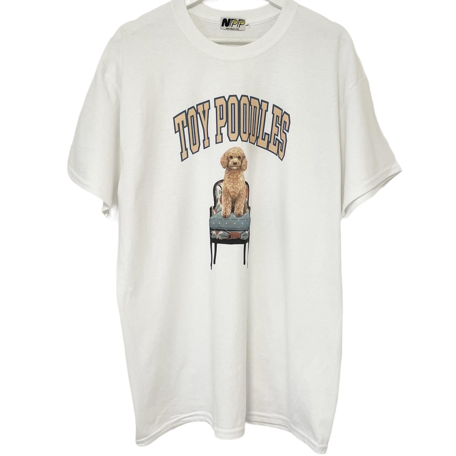 NON POLICY 新作続 POP Dog T TOY POODLES 犬Tシャツ ドッグTシャツ おしゃれ トイプードル 半袖 ノンポリシーポップ プリントTシャツ