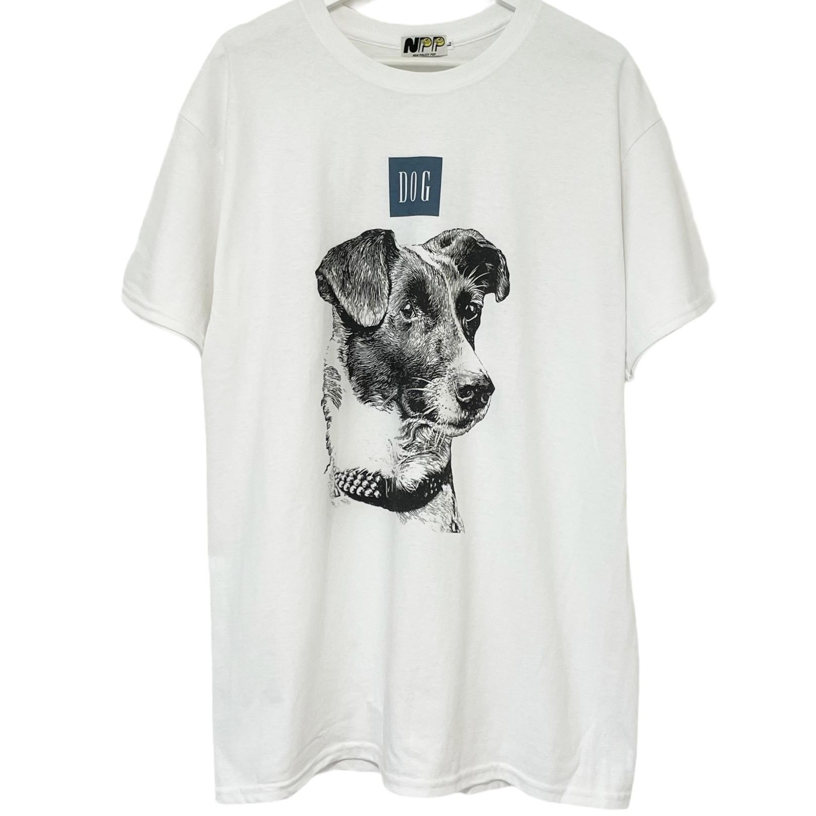 NON POLICY POP Dog T DOG 犬Tシャツ プリントTシャツ ノンポリシーポップ 半袖 大人気 ドッグ ドッグTシャツ 爆安プライス