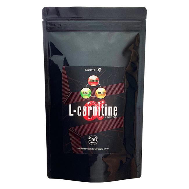 【スーパーSALE10%OFF】3個セット L-カルニチンαL-carnitine α 大容量約6か月分 540粒 楽天 口コミ 通販 カルニチン プレゼント用