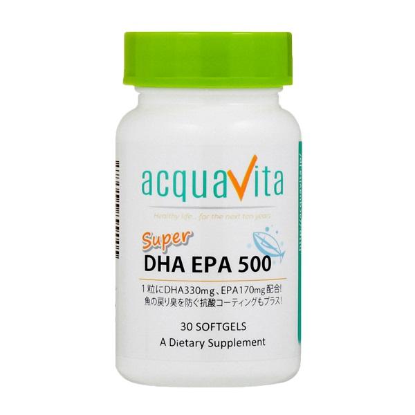 [aquavita(アクアヴィータ) スーパーDHAEPA500 (24個セット)]【SUMMER_D1808】 プレゼント【newyear_d19】