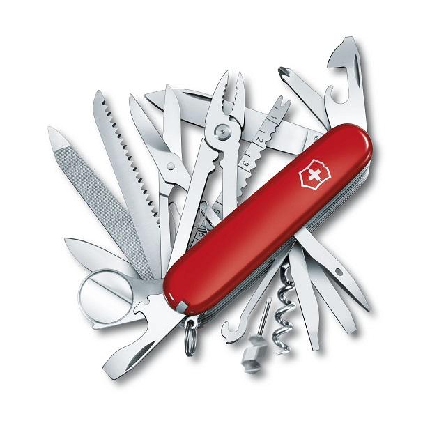 【正規品・永久保証】ビクトリノックス VICTORINOX スイスチャンプ 1.6795 33機能マルチツールナイフ