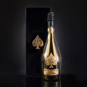 アルマン・ド・ブリニャックブリュット ゴールドArmand De Brignac Blanc Brut Gold750ml木箱入り