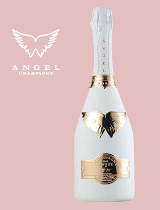 エンジェル シャンパーニュブリュット ロゼ ホワイト【750ml】ANGEL CHAMPAGNE NV BRUT ROSE WHITE