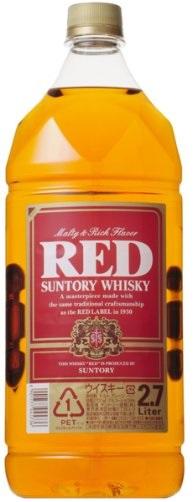 【送料無料】サントリー ウイスキー レッド 2700ml 6本【北海道・沖縄県・東北・四国・九州地方は必ず送料が掛かります】