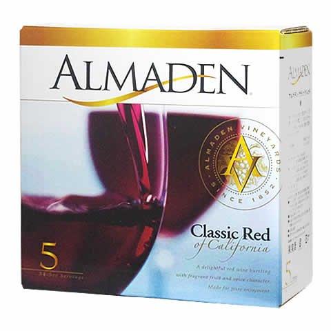 【送料無料】箱ワインアサヒ アルマデン・クラシック レッド 5L×4本【北海道・沖縄県・東北・四国・九州地方は必ず送料が掛かります】