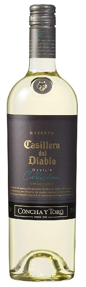 【送料無料】 [白ワイン/辛口/チリ]カッシェロ・デル・ディアブロ コレクション ホワイト 750ml×12本【北海道・沖縄県・東北・四国・九州地方は必ず送料が掛かります】