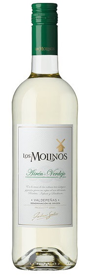 スペイン国内量販市場において販売数量第3位のビッグブランド ロス モリノスアイレンベルデホ 白 750ml 白ワイン ミディアムボディ スペイン 送料無料 期間限定特別価格 激安 お買い得 キ゛フト 1本 ご注文は12本まで1個口配送可能