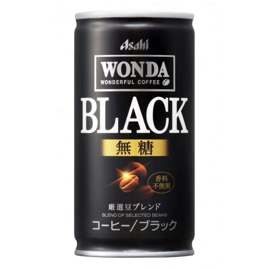 市場最安値に挑戦 送料無料 アサヒ WONDA ワンダ ブラック 1ケース 実物 無糖 ご注文は3ケースまで同梱可能 RSL 卸直営 185ml×30本