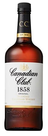 CCの愛称で親しまれる カナディアンウイスキーの代表格 サントリー カナディアンクラブ リッターボトル 1L 人気ブレゼント お得クーポン発行中 40度 ご注文は12本まで1個口配送可能 1000ml 1本