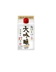 【送料無料】小山本家 おいしい大吟醸 パック 900m×12本【本州(一部地域を除く)は送料無料】