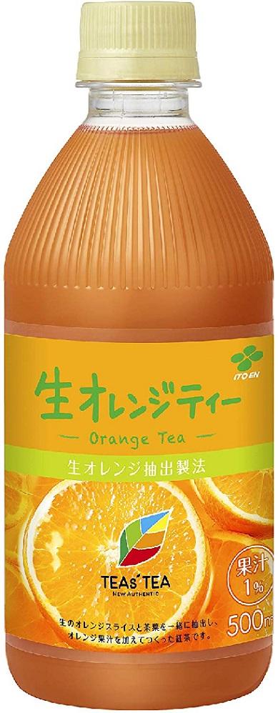 やさしく香るオレンジティー 送料無料 定番から日本未入荷 伊藤園 TEAs'TEA 人気商品 生オレンジティー Authentic New 500ml×24本