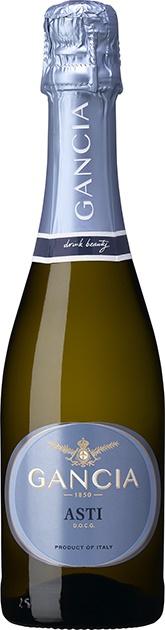 【送料無料】スパークリングワイン ガンチア アスティ・スプマンテ 375ml×12本 [イタリア/甘口/ミディアムボディ/白]【北海道・東北・四国・九州・沖縄県は必ず送料がかかります】