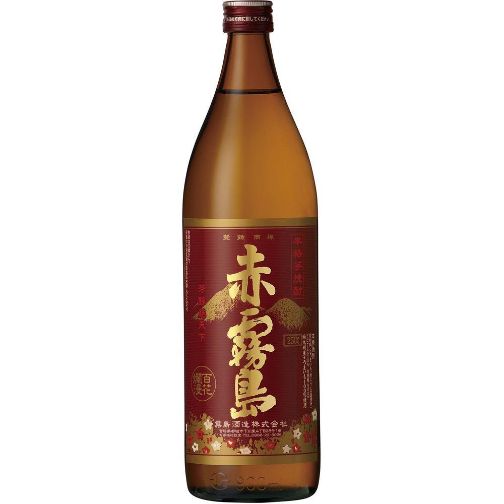 【最安値に挑戦】【2ケース】霧島酒造 赤霧島 25度 900ml 6本【北海道・沖縄県・東北・四国・九州地方は必ず送料が掛かります。】