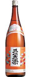 【送料無料】【ケース販売】【富山の地酒】三笑楽 上撰 (本醸造) 瓶 1800ml×6本【北海道・沖縄県・東北・四国・九州地方は必ず送料が掛かります】