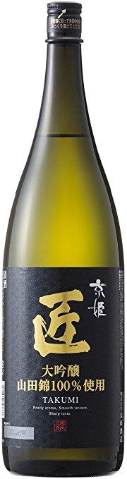 【送料無料】【ケース販売】京姫酒造 大吟醸 匠 1.8L×6本【北海道・沖縄県・東北・四国・九州地方は必ず送料が掛かります。】