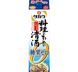 【送料無料】【2ケースセット】宝 タカラ 料理のための清酒 糖質ゼロ 1.8L×12本【北海道・沖縄県・離島は対象外となります。】