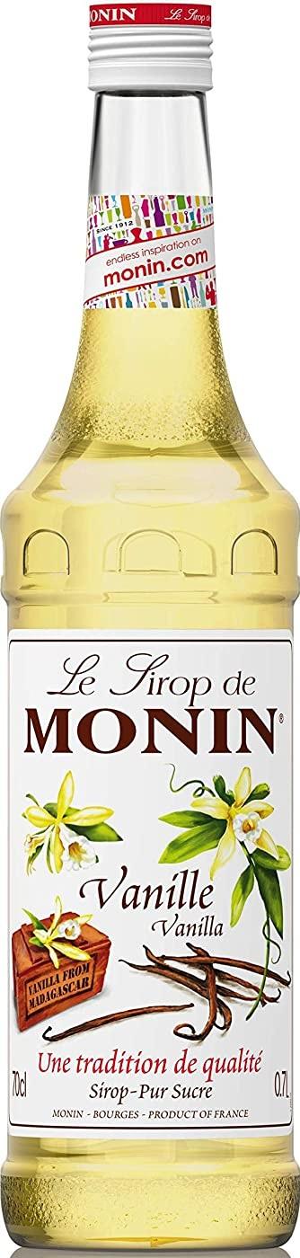 世界中のプロフェッショナルから愛されているモナンのノンアルコールシロップ MONIN 割引 モナン バニラ 期間限定の激安セール シロップ 1本 700ml ノンアルコール ご注文は12本まで同梱可能
